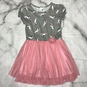 💥 Lily Bleu unicorn tulle dress gray pink 6